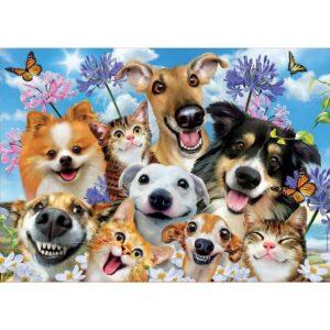 Животинско селфи - картина