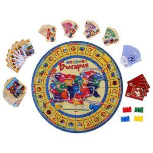 Опознай България - семейна настолна игра - компоненти