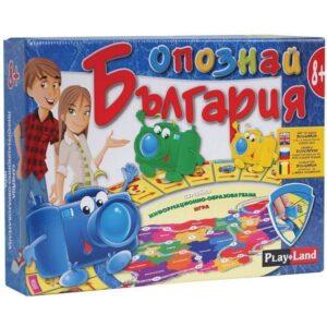 Опознай България - семейна настолна игра