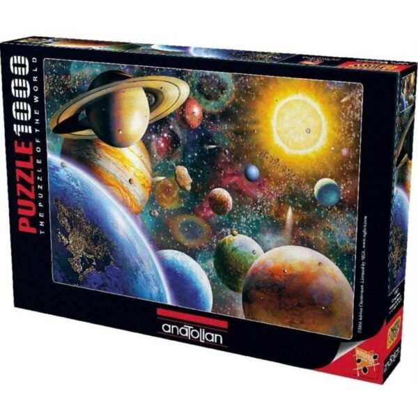 Планети в космоса - кутия