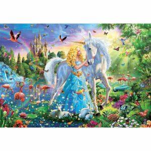 Принцесата и еднорогът - картина