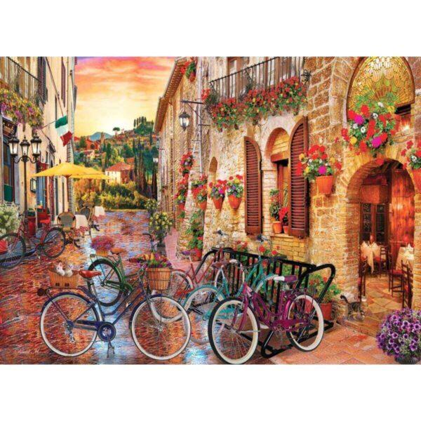 Разходка с велосипеди в Тоскана - картина