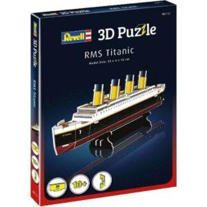 Мини пъзел 3D - RMS Титаник - кутия