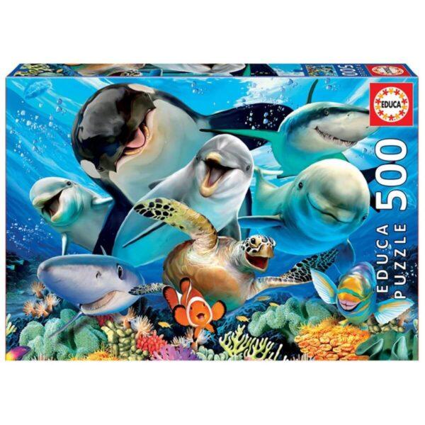 Селфи под водата - кутия