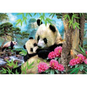 Семейство панди - картина