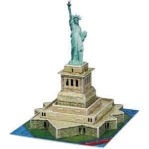 Мини пъзел 3D - Статуята на свободата - макет