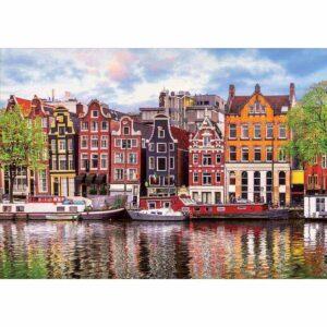 Танцуващите къщи, Амстердам - картина