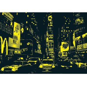 Таймс Скуеър, Ню Йорк - неонов пъзел - неонова картина