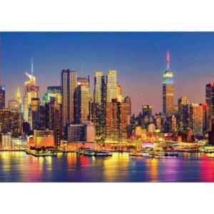 Вечерен Манхатън - картина