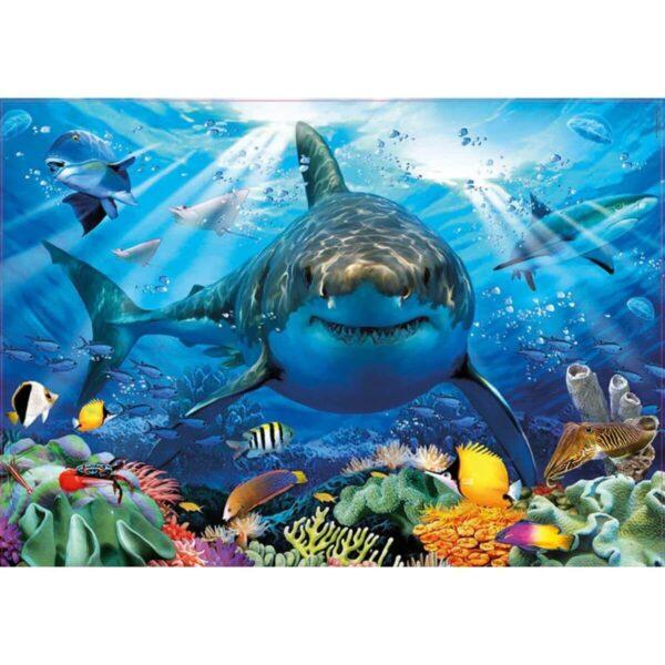 Великата бяла акула - картина