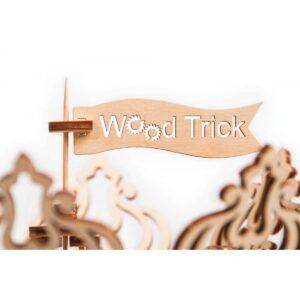 Дървен конструктор Carousel