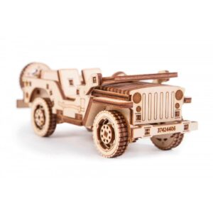 Дървен конструктор - Jeep