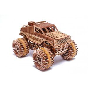 Дървен конструктор Monster Truck