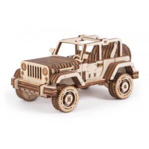 Дървен конструктор - Safari car