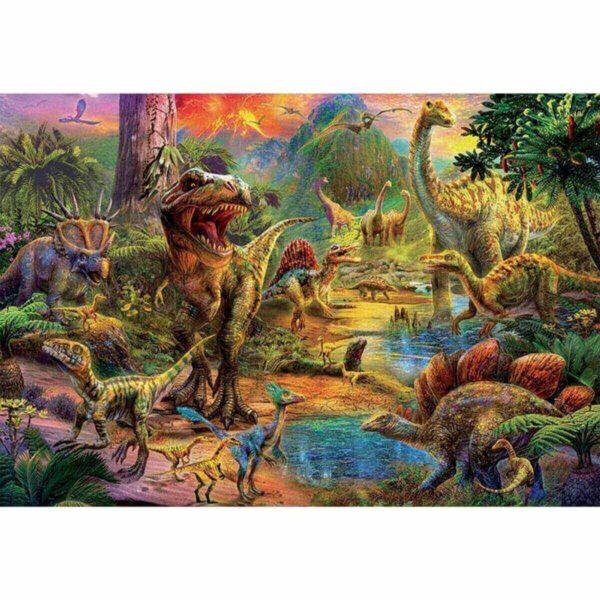 Земя на динозаври - картина