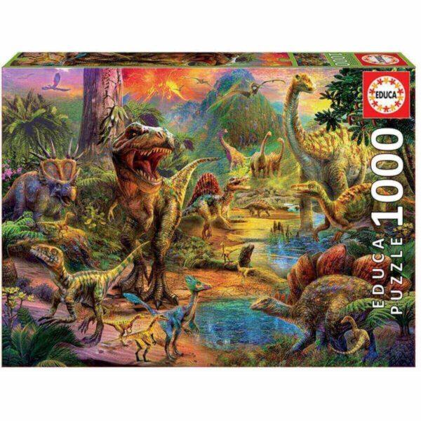 Земя на динозаври - кутия