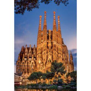 Пъзел 1000 части Саграда Фамилия, Испания