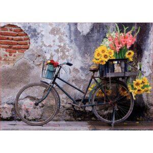 Колелото с цветята - 500 части - кутия