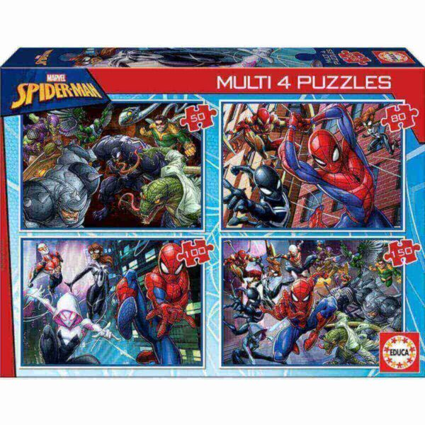 4 в 1 Спайдърмен - кутия