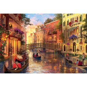 Залез във Венеция - 1500 части - картина