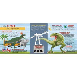 WOW пъзел - T-REX - 100 части - факти