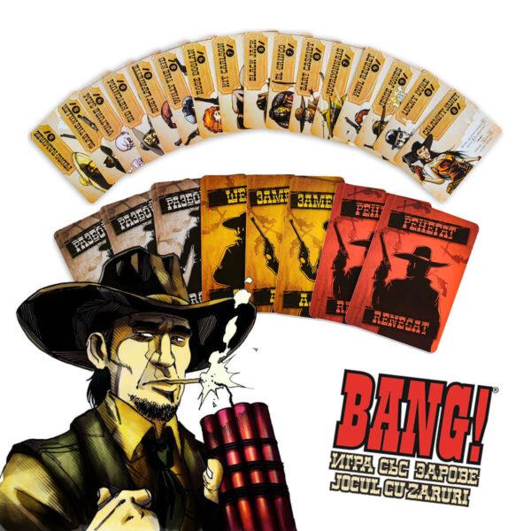 Карти на Bang! Игра със зарове