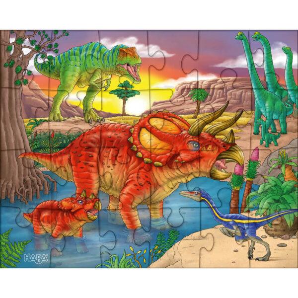 Пъзел Haba - Динозаври