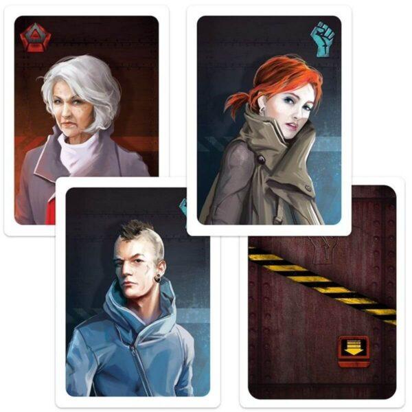 Съпротива - парти настолна игра - герои