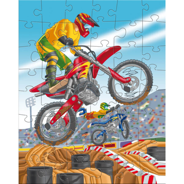 Детски пъзел Haba- Моторспорт - 1