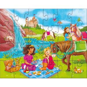 Детски пъзел Haba - Принцеси и коне - 2