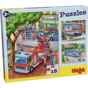 Пъзел Haba - Професии - Спешна помощ - кутия