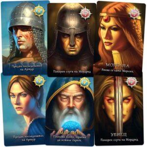 Авалон - парти настолна игра - герои