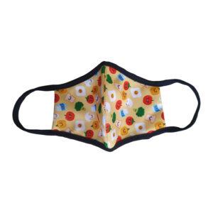 Детска защитна маска с плодове