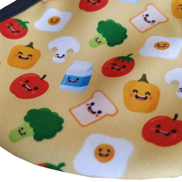 Предпазна маска за деца с картинки