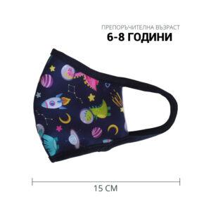 Детска предпазна маска от памук