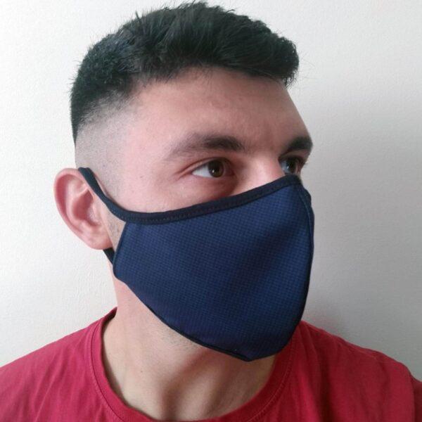 Мъжка предпазна маска синя