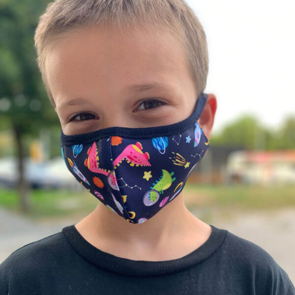 Детска предпазна маска за многократна употреба