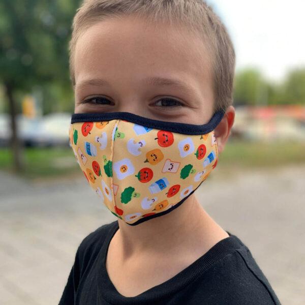 Детски предпазни маски за многократна употреба