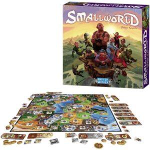Small World - семейна настолна игра - компоненти