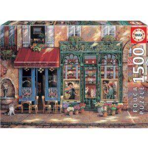 Пъзел Educa - Цветен рай -1500 части - кутия