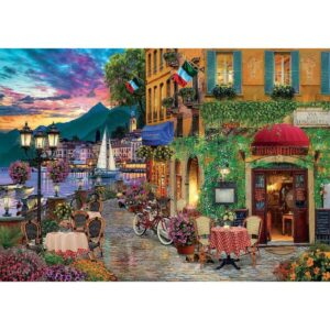 Пъзел Educa - Красота в Италия - 2000 части - картина