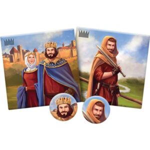 Каркасон - Кралят, графът и сподвижници - компоненти