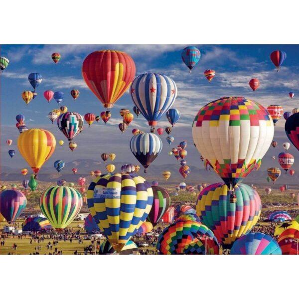 Балони с горещ въздух - 1500 части