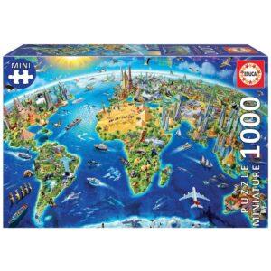 Символите на света - Миниатюра - 1000 части