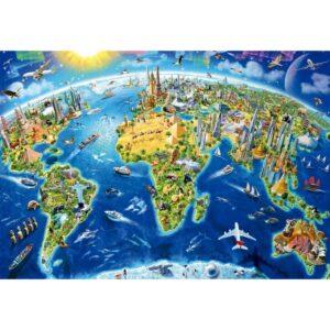 Символите на света - Миниатюра -1000 части - картина