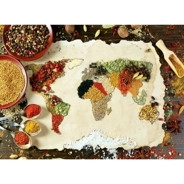 Anatolian- Билкова карта на света - 1000 части - картина