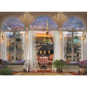 Anatolian- Изглед от тераса в Париж - 1000 части - картина