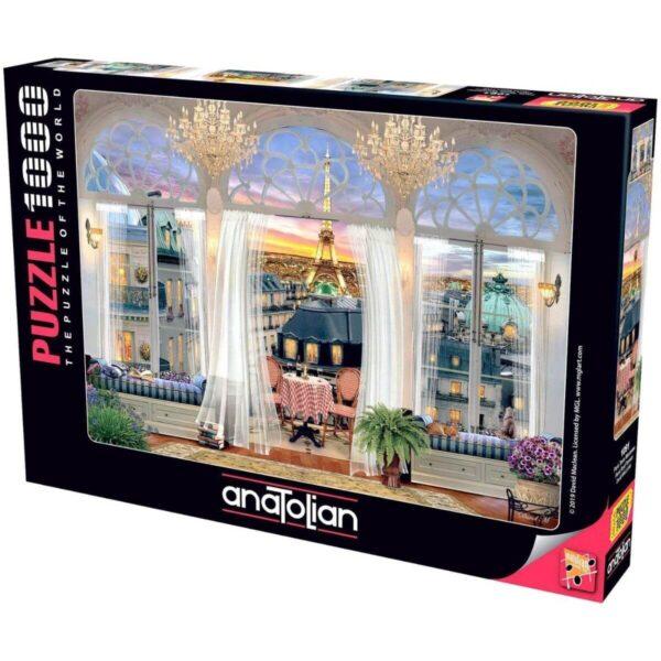 Anatolian- Изглед от тераса в Париж - 1000 части - кутия