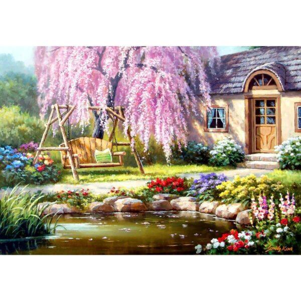 Anatolian - Къща край черешовата градина - 1000 части - картина