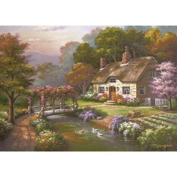 Anatolian - Къщата с розите - 3000 части - картина
